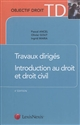 TRAVAUX DIRIGES D INTRODUCTION AU DROIT ET AU DROIT CIVIL